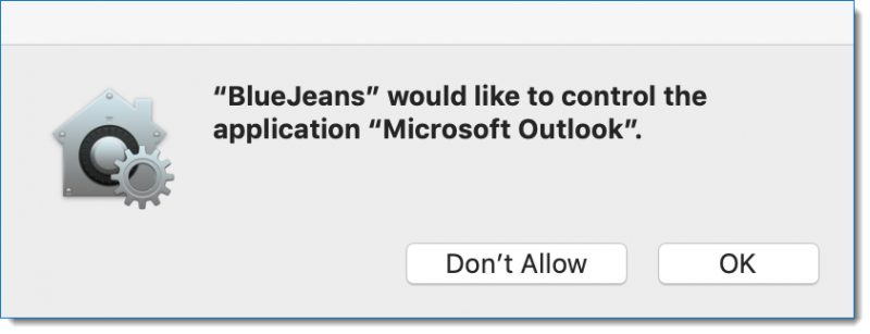 BlueJeans Permissions with macOS Mojave