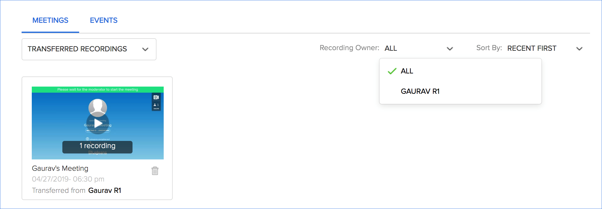 How to Download and Share Recordings