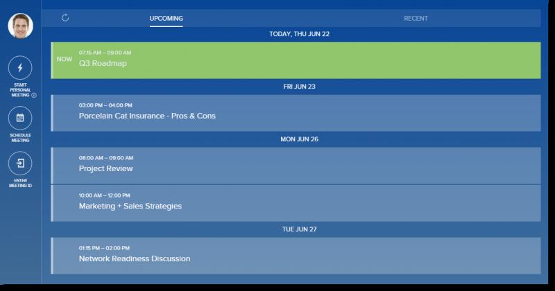 BlueJeans App Calendar Integration