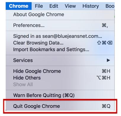 Chrome microphone bug: No Audio
