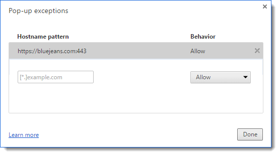 Unblocking Facebook Live and Workplace on Google Chrome