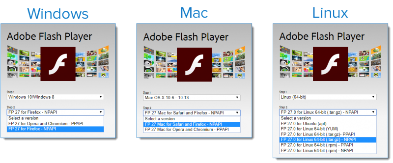 Adobe Flash Player for Video Sharing & Events Attendee