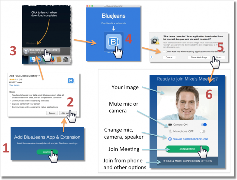 BlueJeans App for Mac OS, Windows, and Linux
